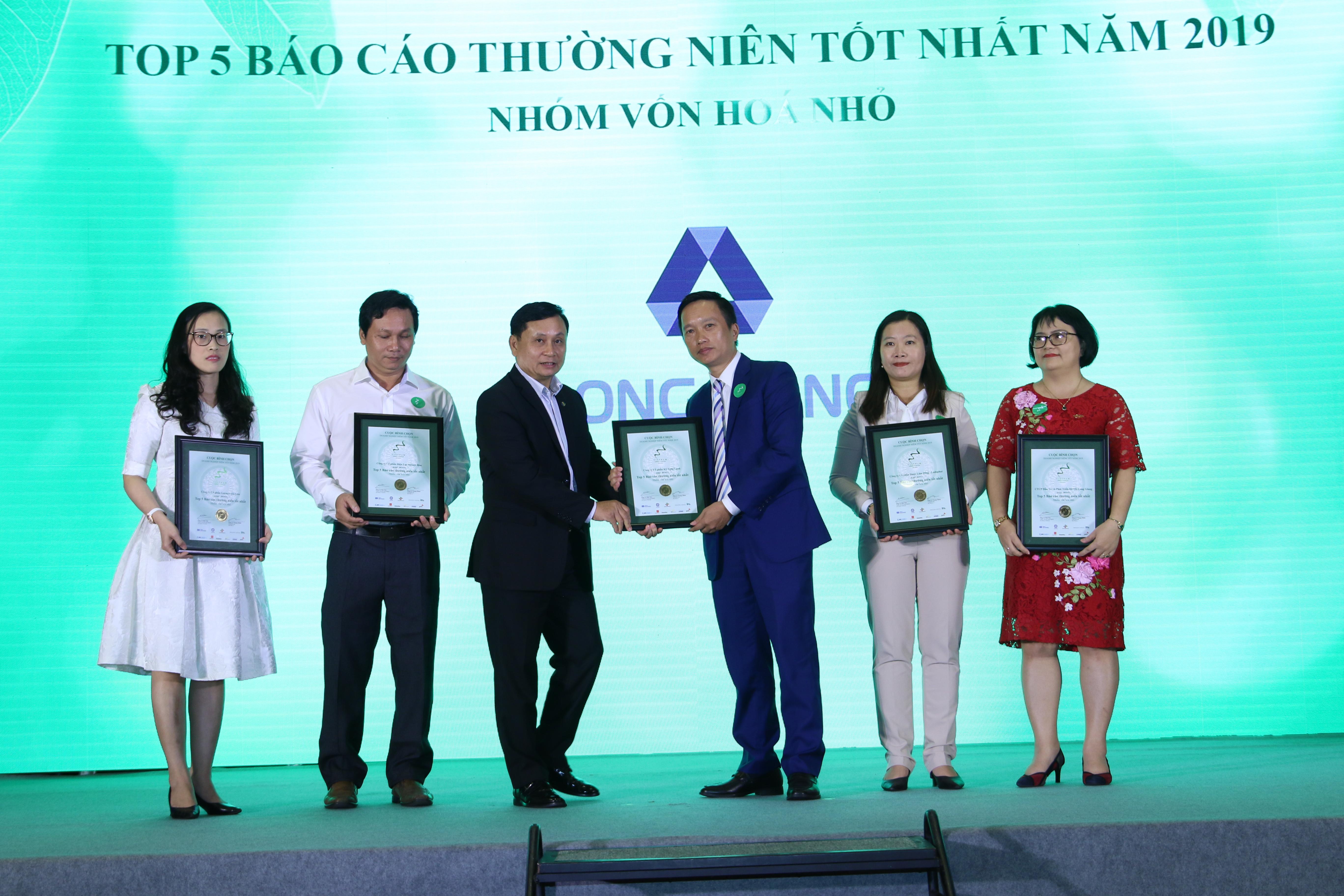 Long Giang Land đạt giải Báo cáo thường niên tốt nhất