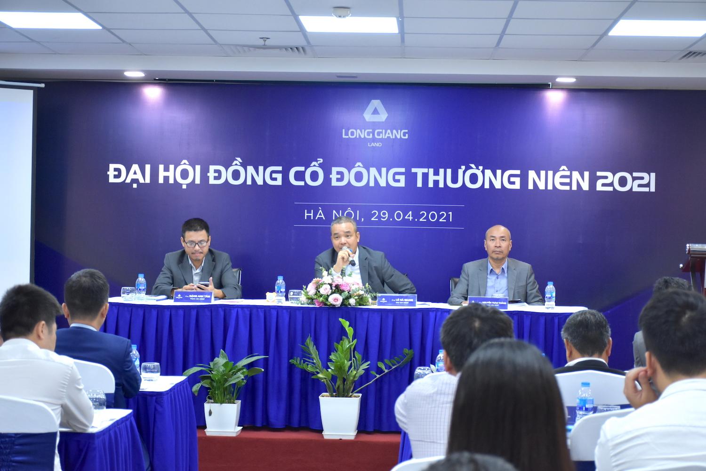 Long Giang Land tổ chức Đại hội đồng cổ đông thường niên 2021